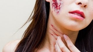 How To; Fake Wound/Cut Tutorial (Easy)