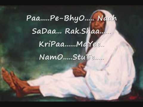 Sri Ramakrishna Ashram Arti Song 3~Ma Sharada Devi~Prakritim Paramam