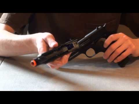 CyberGun/KJW Colt 1911 CO2 BlowBack Airsoft Pistol Review