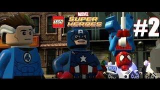 LEGO Marvel Super Heroes : Part 2: Baxter Building 3DS