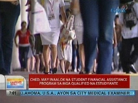 CHED, may inaalok na student financial assistance program sa mga qualified na estudyante