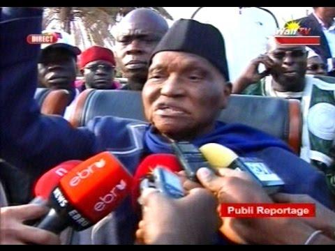 seneweb.com/Les Premiers paroles: Maitre Abdoulaye Wade