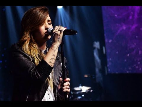 Demi Lovato - Give Me Love (Ed Sheeran cover) live at iHeartRadio