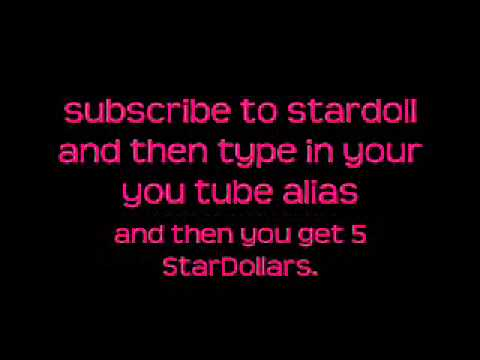 how to earn stardollars.WMV, this isnt really a good way but it works