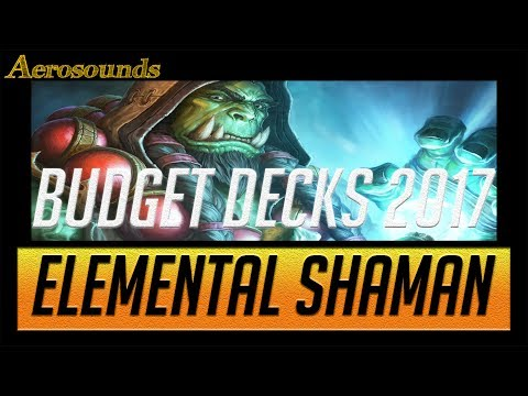 Hearthstone Budget Decks for Un'Goro 2017 Elemental Shaman. Gameplay, Guide and TIps