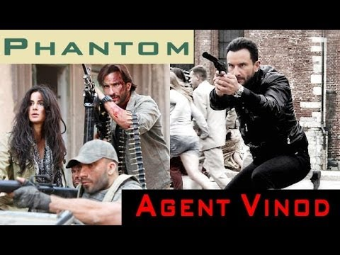 Saif Ali Khan Claims 'Phantom' Will Be Better Than 'Agent Vinod'!