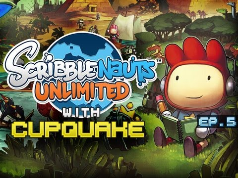 """ANGRY HIPSTERS"" Scribblenauts Unlimited Ep 5"