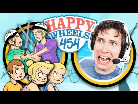 DAD VS MOM - Happy Wheels