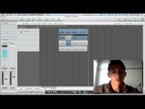 Logic Pro 9 Tutorial - Audio Take Folder