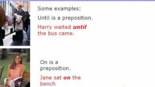 What is a preposition? Types of prepositions