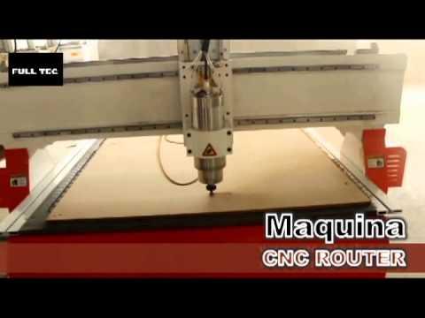 Maquina CNC router para madera: puertas,ventanas,etc