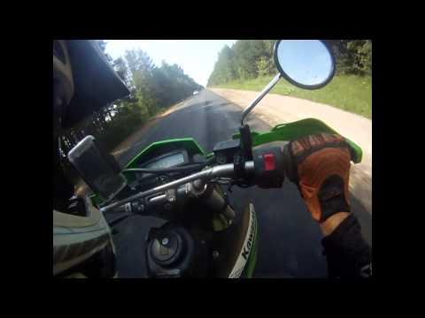Kawasaki KLX 250 S 2012 acceleration 0-100 km/h and top speed