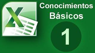 Excel Conocimientos basicos(Cap. 1)