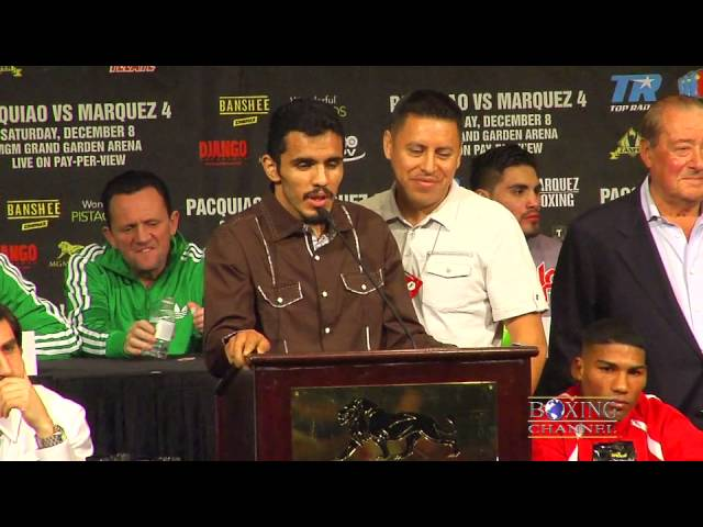 Miguel Vasquez-Mercito Gesta part of the Pacquiao-Marquez undercard fights