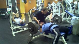 350 Bench view on youtube.com tube online.