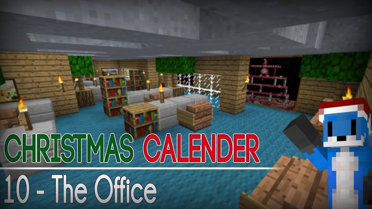 Christmas Calendar Parkour : Christmas calendar the office minecraft parkour w