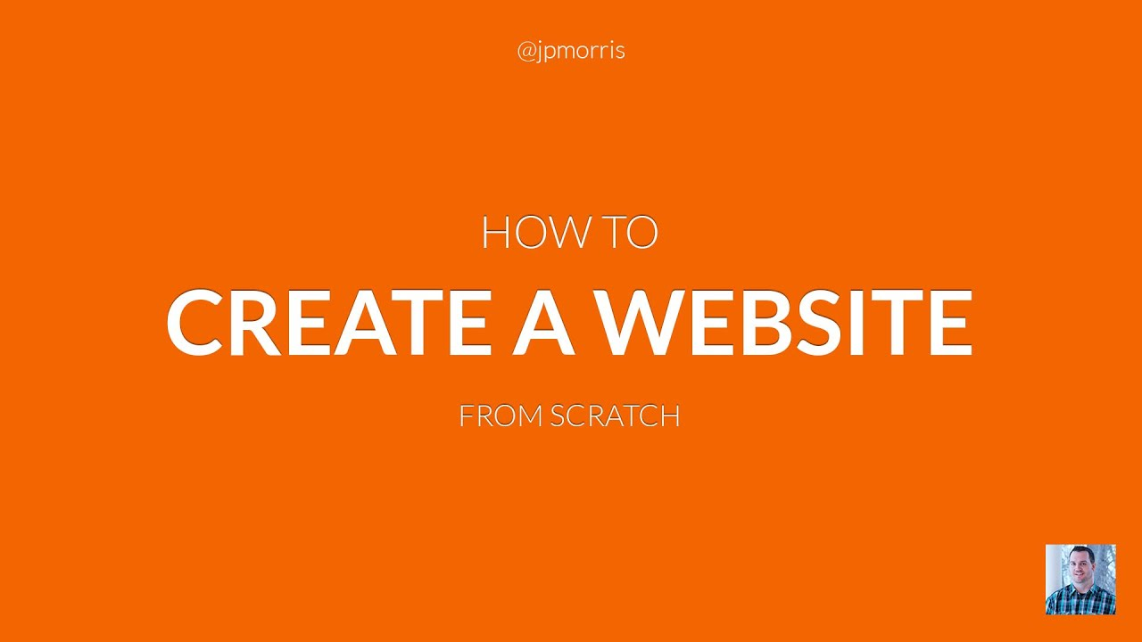 learn how to creat a web site