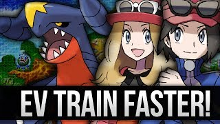 Pokemon X And Y EV Train Faster Than Super Training (EV