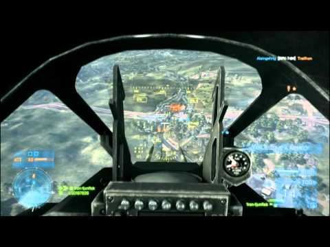 Battlefield 3 Jet Gameplay | 44-2 | Rush | Caspian Border | 1ron-tjunfisk
