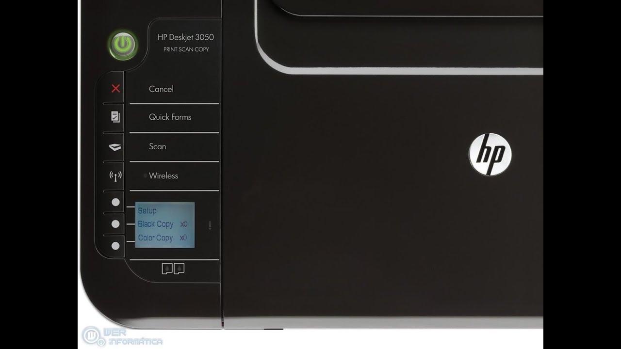 descargar software de impresora hp deskjet 3050