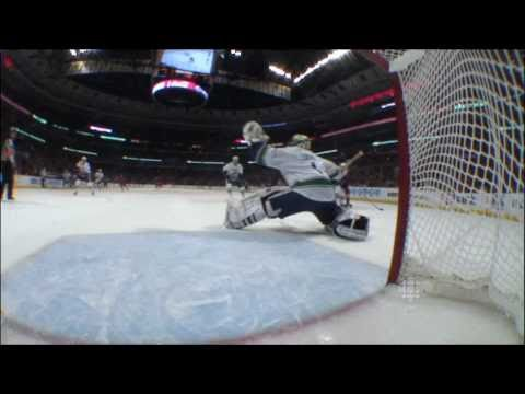 Great Save Luongo - Canucks at Hawks - R1G4 2011 Playoffs - 04.19.11 - HD