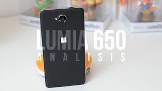 Análisis Lumia 650