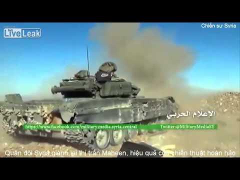 Quân đội Syria giánh lại thị trấn Maheen, hiệu quả của chiến thuật hoàn hảo