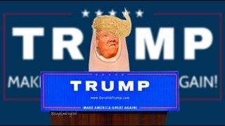 Donald Trump Nail Art Tutorial