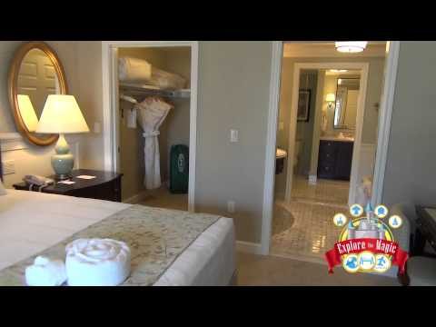 2 Bedroom Lock off tour at Disney Grand Floridian Resort and Spa Villas