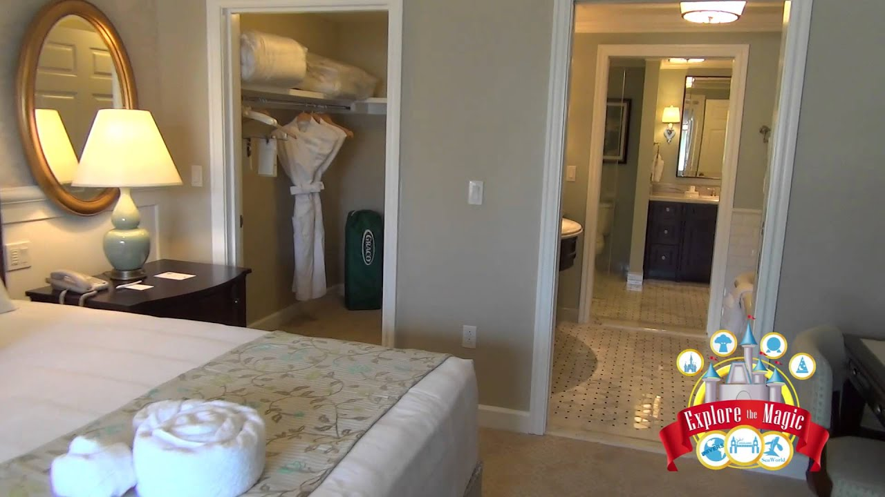 2 Bedroom Lock Off Tour At Disney Grand Floridian Resort And Spa Villas You