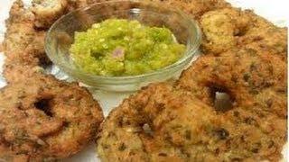 Pesara Pappu Chicken Garelu..