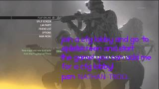 MW2 USB Hack Mod Menu NO JAILBREAK Tutorial! PS3 XBOX Pink