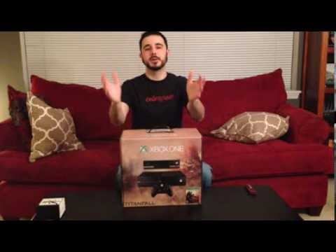 Titanfall Xbox One Bundle Unboxing