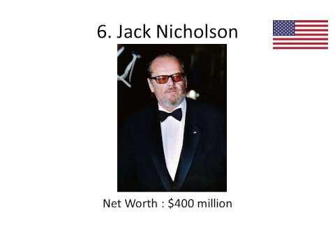 10 richest actors (World)