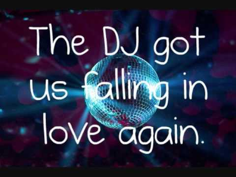 USHER - DJ GOT US FALLING IN LOVE AGAIN LYRICS