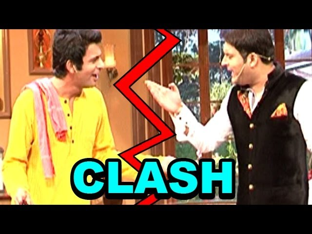 Comedy Nights with Kapil - Kapil Sharma and Gutthi aka Sunil Grover's CLASH
