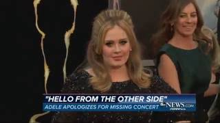 Adele Cancels Her Phoenix Concert | ABC News