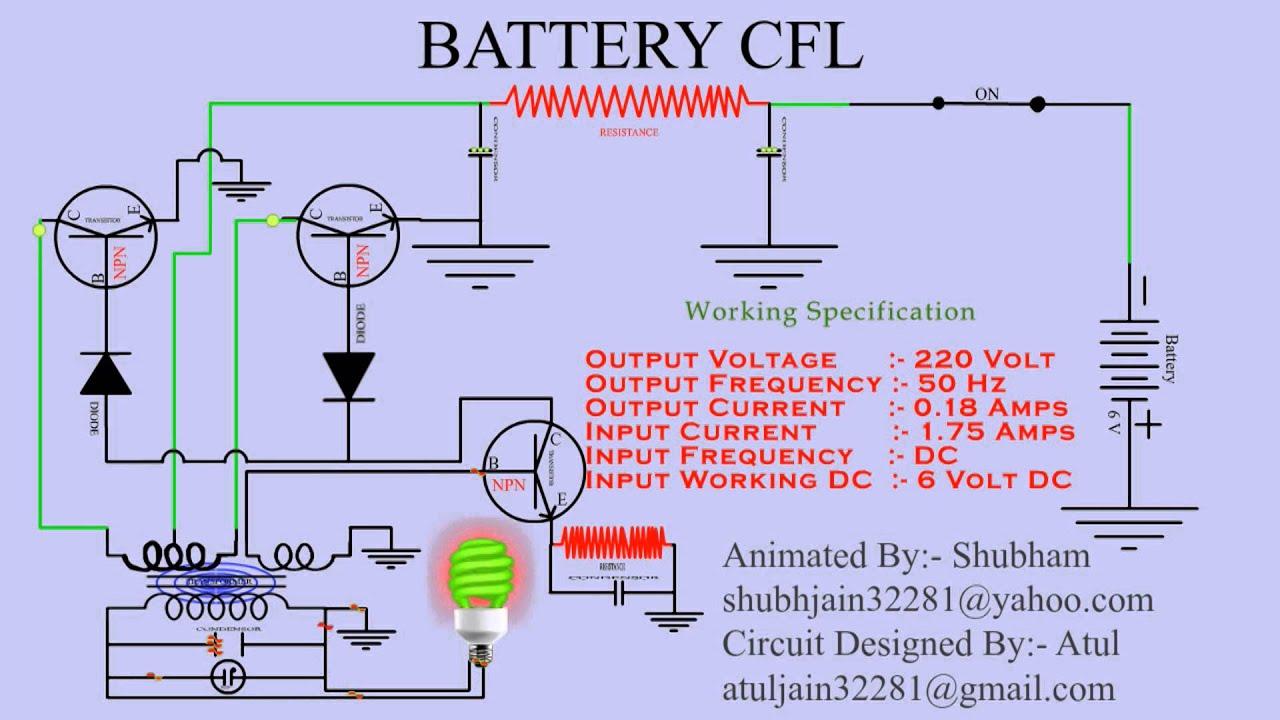 Diagram Animated Cfl Circuit In English Language