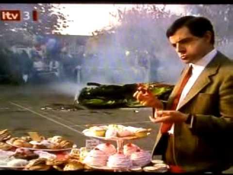 Mr Bean Squashed Car Youtube