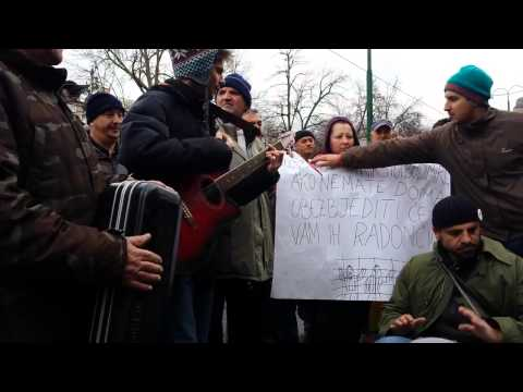 Protest and music infront of Presidential Building  Sarajevo   YouTube