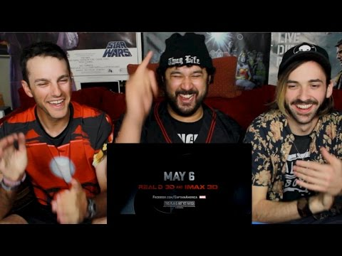 Captain America: Civil War Official Trailer #2 REACTION & REVIEW!!!