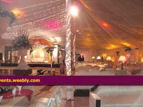 Lates Weddings Setups by A2Z Events Solutions, Best Mehndi, Barat, Walima Setups in Pakistan