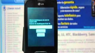 Liberar LG P500 Optimus One, Desbloquear LG P500 Optimus