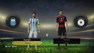 PS4 FIFA 15 Argentina Vs Alemania