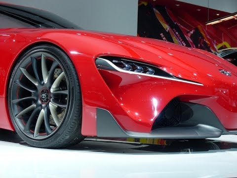 The Crazy Cool Toyota FT-1 Concept Revealed at the Detroit Auto Show
