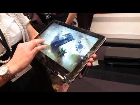 Lenovo IdeaPad YOGA Windows 8 notebook/tablet