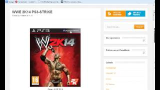 How To Download WWE 2k14 PS3 For FREE