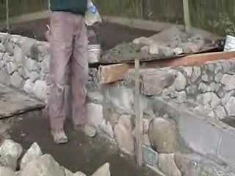 Building Rock Wall Youtube