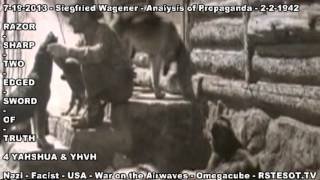 Analysis of Propaganda   2 2 1942   Siegfried Wagener