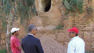 أعمال تخريب بالموقعين الأثريين قنطرة الفلوس ودار السلطان بإقليم الخميسات من طرف باحثين عن الكنوز |